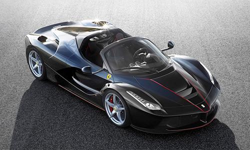 Ferrari LaFerrari 0 5753 1467778432 Ferrari LaFerrari Spider chỉ bán ra với số lượng giới hạn