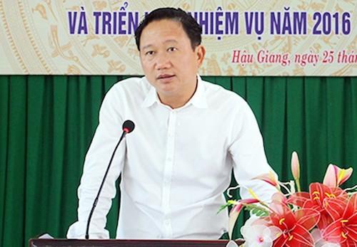 Ông Trịnh Xuân Thanh. Ảnh: Cửu Long
