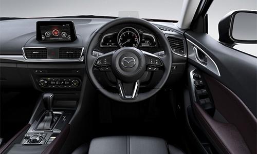 Mazda3 2017 16 4204 1468482052 Bản nâng cấp của cả mẫu sedan và hatchback cải tiến nhẹ thiết kế