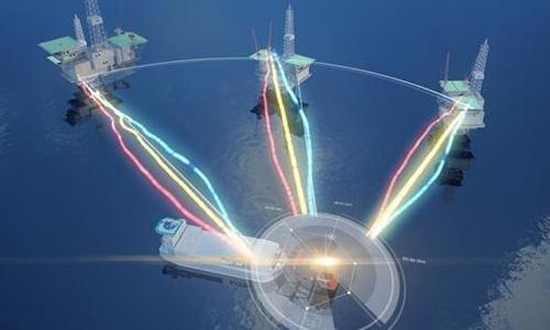 Mô hình hoạt động của nhà máy điện hạt nhân di động của Trung Quốc dự tính xây dựng ở Biển Đông. Ảnh: Global Times.