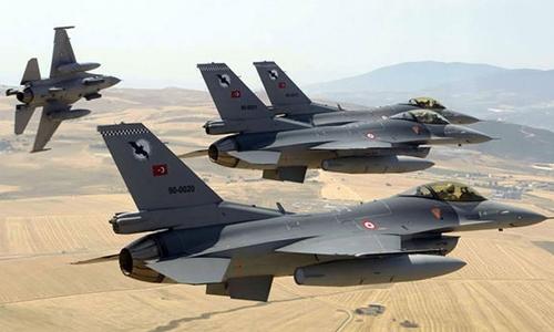 Chiến đấu cơ F-16 của không quân Thổ Nhĩ Kỳ. Ảnh: Dailysabah.com