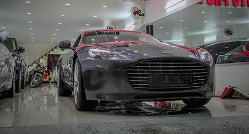 IMG 5079 4382 1468777069 Aston Martin Rapide S sẽ có nội thất tông màu nâu