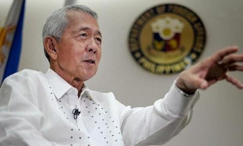 Ngoại trưởng Philippines bác bỏ đề nghị đàm phán song phương của Trung Quốc do Bắc Kinh không tôn trọng phán quyết của Tòa Trọng tài. Ảnh minh họa: Philippines Inquirer.