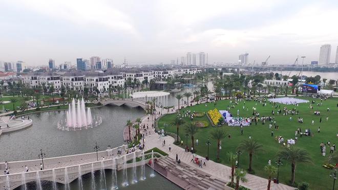 Công viên ven sông lớn nhất Sài Gòn sắp mở cửa