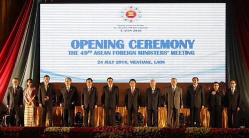 Hành trình ra tuyên bố chung của các ngoại trưởng ASEAN tại Lào