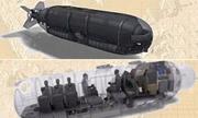 'Tàu ngầm tên lửa' chuyên chở người nhái của Mỹ
