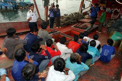 Malaysia bắt 88 ngư dân Việt nghi đánh bắt trái phép