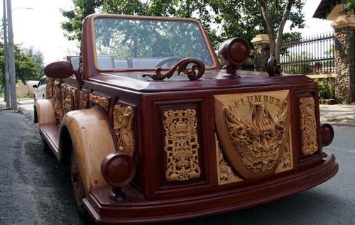Siêu xe BMW bằng gỗ duy nhất tại Việt Nam - xe tự chế, chất nhất Việt Nam