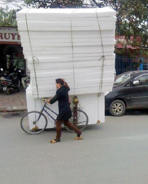 Xe không sang nhưng khả năng vận chuyển miễn chê - xe tự chế, chất nhất Việt Nam