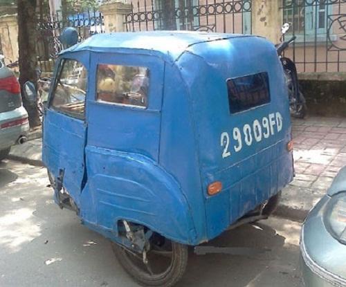 Xe ô tô nhỏ gọn, đáng yêu - xe tự chế, chất nhất Việt Nam