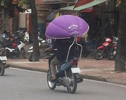 Nắng mưa chẳng còn là vấn đề - xe tự chế, chất nhất Việt Nam