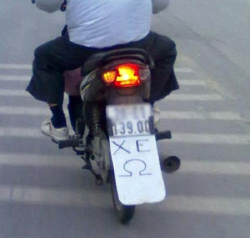 Xe ôm dành riêng cho khách yêu môn vật lý - xe tự chế, chất nhất Việt Nam