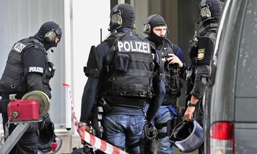 Cảnh sát đặc nhiệm Đức. Ảnh: AFP.