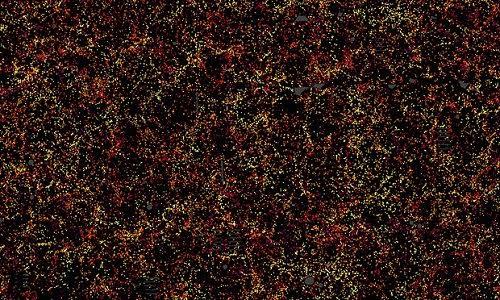 Bản đồ lớn nhất về vũ trụ tới nay. Ảnh: Daniel Eisenstein/The SDSS-III collaboration