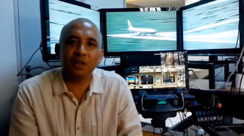 Cơ trưởng MH370Zaharie Ahmad Shah