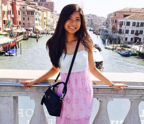 Anna Bui, cô bạn gái gốc Việt của Ivanov. Ảnh: Facebook