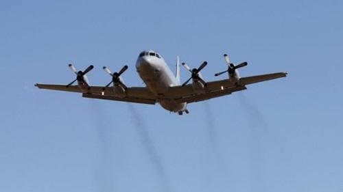 Máy bay P-3 Orion có nhiều chuyến bay trên Biển Đông. Ảnh: SMH