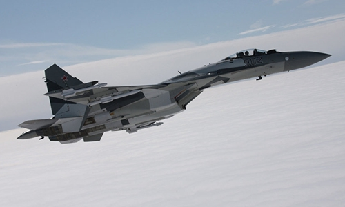 Báo Trung Quốc nói Nga đã chuyển giao 24 chiếc chiến đấu cơ Su-35. Ảnh: Sputnik.