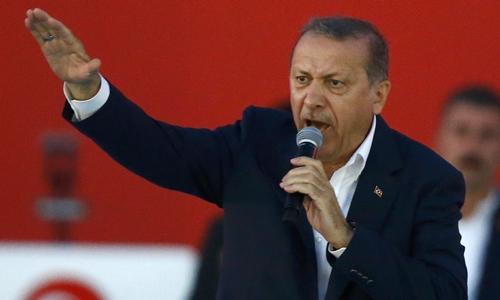 Tổng thống Thổ Nhĩ Kỳ nói Đức 'nuôi dưỡng khủng bố'