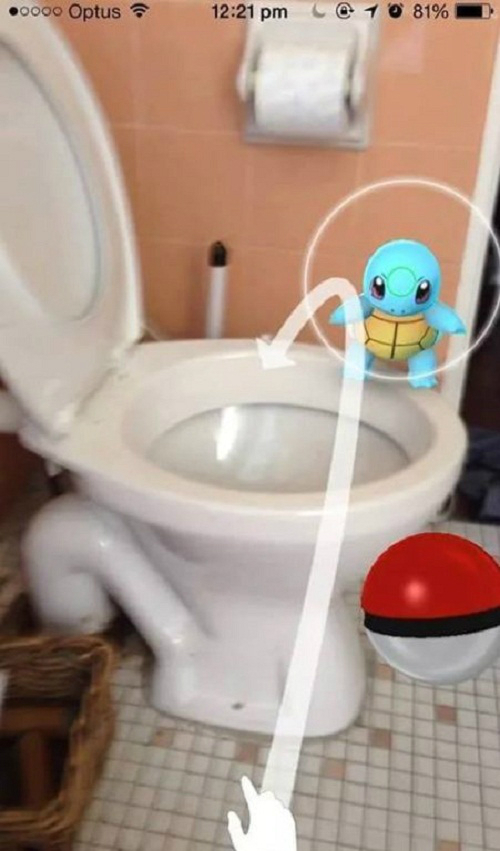 Những tình huống 'khó đỡ' khi chơi Pokemon Go  Anh-che-Pokemon-Go-9-4068-1470-5022-8324-1470844915