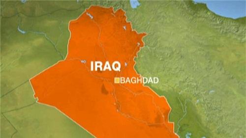Vị trí thủ đô Baghdad ở Iraq. Đồ họa: Aljazeera
