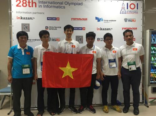 Đội tuyển dự thiOlympic Hoá học quốc tế