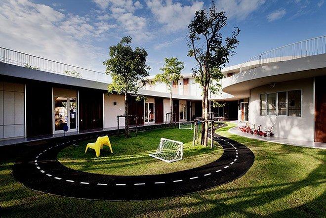 những trường mẫu giáo đẹp nhất thế giới 10