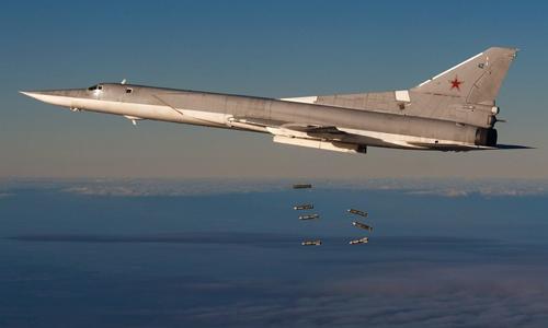 Oanh tạc cơ tầm xa Tu-22M3 của không quân Nga. Ảnh: RIA Novosti.
