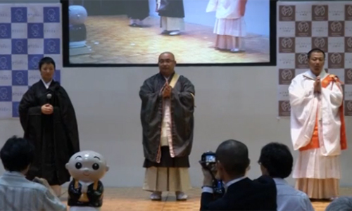 3 thí sinh tham dựCuộc thi thường niên Nhà sư đẹp nhất Nhật Bản