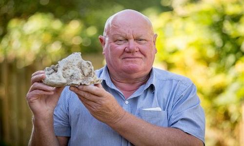 Ngư dân rao bán khối long diên hương giá 86.000 USD
