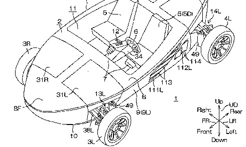 Yamaha Amphicar xe loi nuoc Vn 9803 9480 1472014751 Nhật Bản thiết kế xe có khả năng gập bốn bánh vào thân xe để di chuyển trên nước
