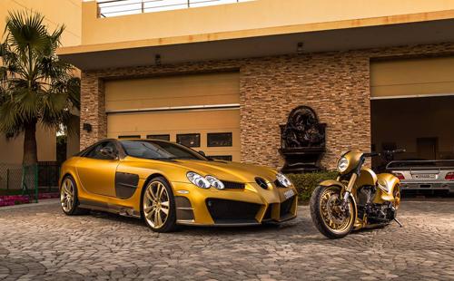 mercedes 1 1285 1472005057 Những đại gia Trung Đông có sở thích độ lại siêu xe để thể hiện cá tính