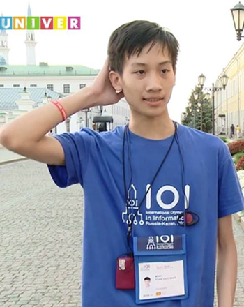 Chàng trai chuyên Toán đổi màu huy chương Olympic Tin học