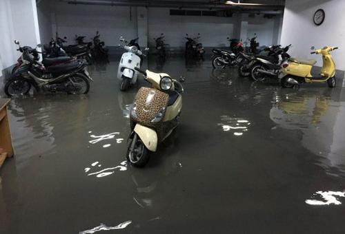 Sài Gòn rối loạn vì ngập nước, kẹt xe
