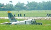 Máy bay quân sự rơi ở Phú Yên, phi công tử vong
