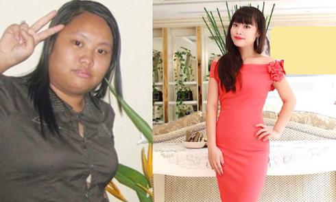 Cô gái 9X giảm từ 90 kg xuống 49 kg nhờ ăn thịt nạc, rau xanh