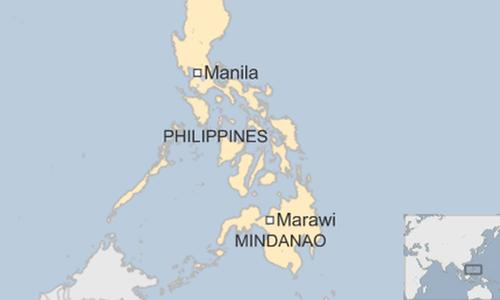 Phiến quân mang cờ IS cướp ngục ở Philippines
