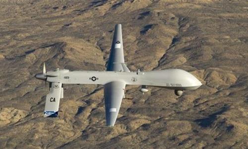 Máy bay không người lái US MQ-1 Predator của Mỹ. Ảnh: Reuters.