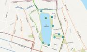 Hướng đi của các phương tiện khi Hồ Gươm thành phố đi bộ