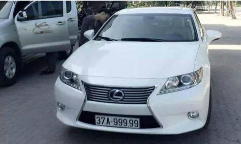Dấu chấm trên biển số ôtô có ý nghĩa gì?