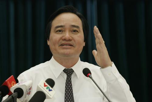 Bộ trưởng Phùng Xuân Nhạ: 'Thi THPT quốc gia sẽ theo hướng đánh giá năng lực'