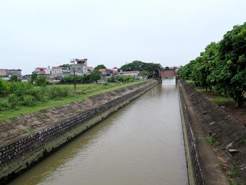 Một hệ thống thủy lợi ở tỉnh Ninh Bình. Ảnh: AFD.