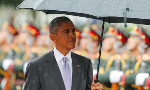 Sắp hết nhiệm kỳ, Obama bị thử thách về sức mạnh của Mỹ