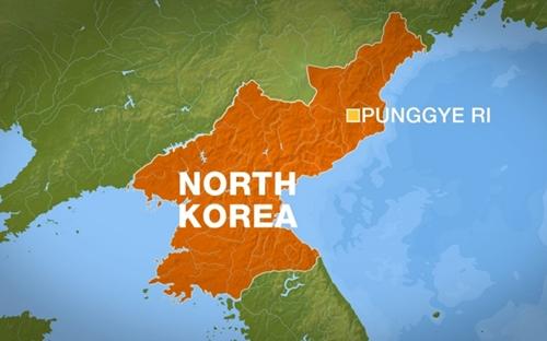 Vị trí khu vực thử hạt nhân Punggye-ri, Triều Tiên. Đồ họa: Al Jazeera.