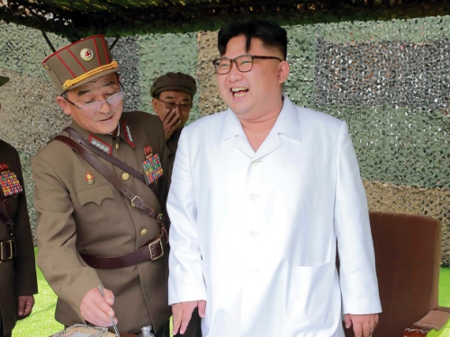 Lãnh đạo Triều Tiên Kim Jong-un. Ảnh: AFP