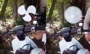 Những kiểu độ xe máy chống nắng nóng chỉ có ở Việt Nam