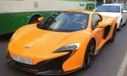Đại gia lái siêu xe McLaren độc nhất Việt Nam ở Sài Gòn