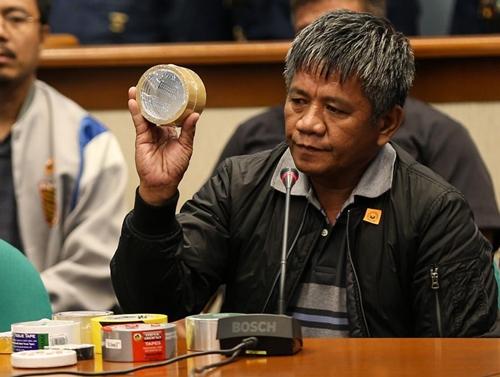 Edgar Matobato, thành viên biệt đội tử thần Davao (DDS). Ảnh: Inquirer.
