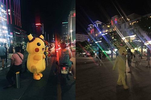 Pikachu sau khi uống thuốc giảm cân.