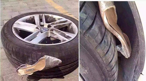 Khi Lọ Lem thời hiện đại đánh rơi giày.